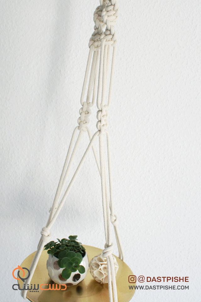 آویز گل و گیاه سقفی زیبا