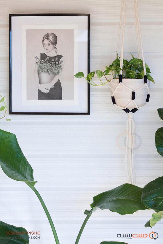 آویز گل و گلدان