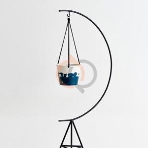 جاگلدانی فلزی مدل آروما