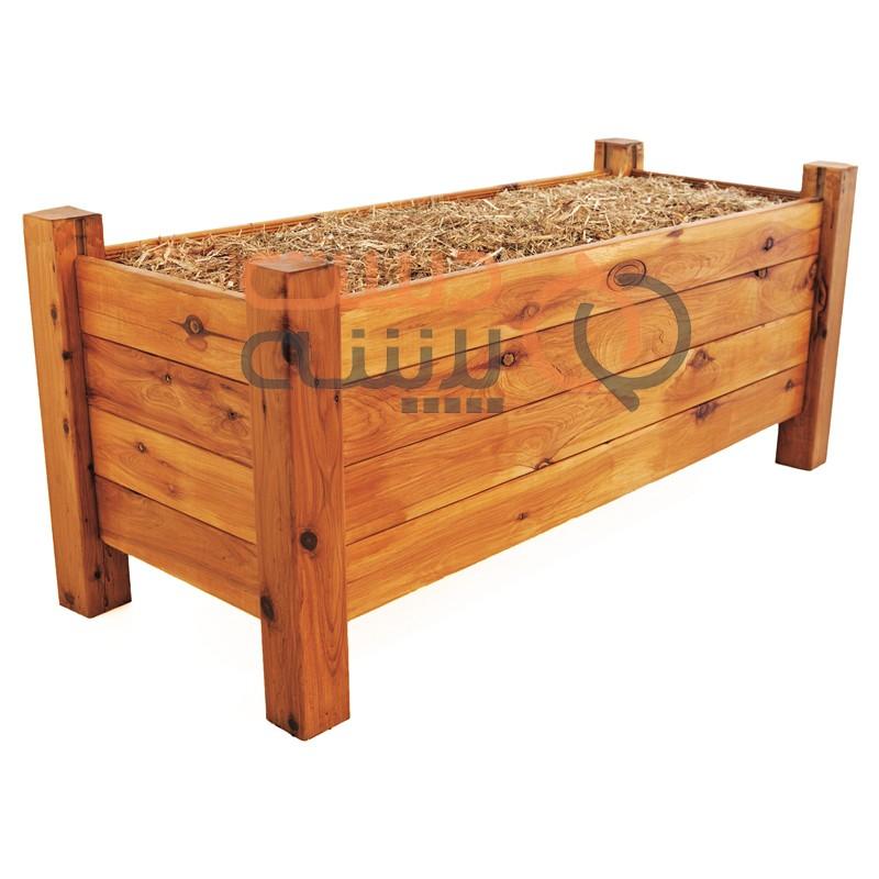 دست پیشه تولید کننده انواع گلدان های چوبی