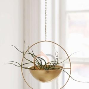 آویز گلدان فلزی مدل هامون