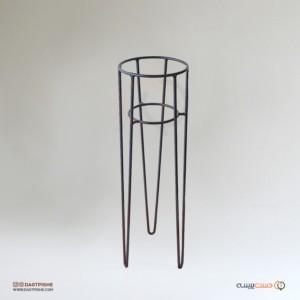 جا گلدانی فلزی مدل میلانو