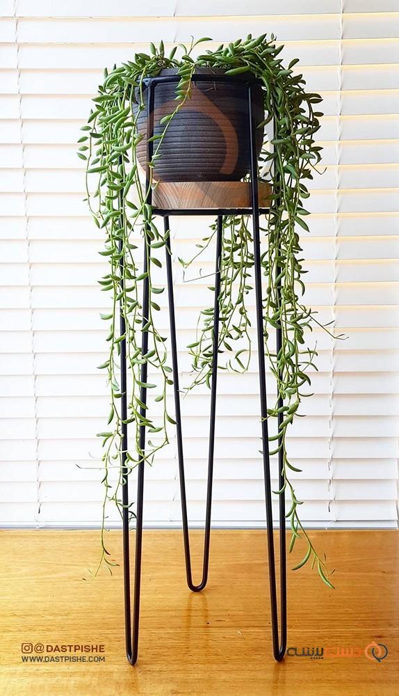 گلدان فلزی مدل میلانو