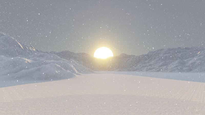 خورشید زمستان